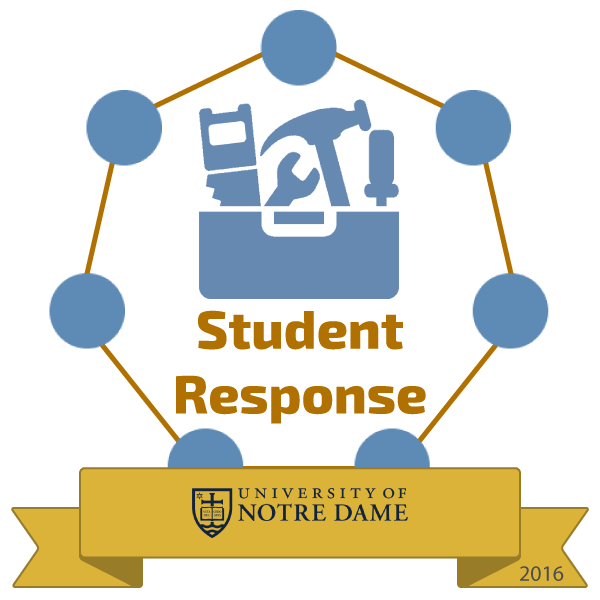student Response badge image